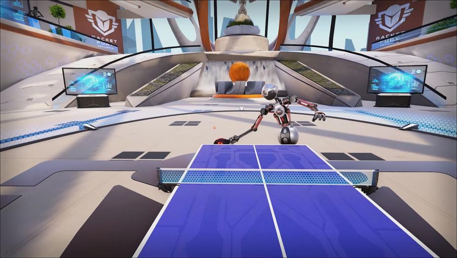 <b>RACKET</b> FURY: <b>TABLE TENNIS</b> VR